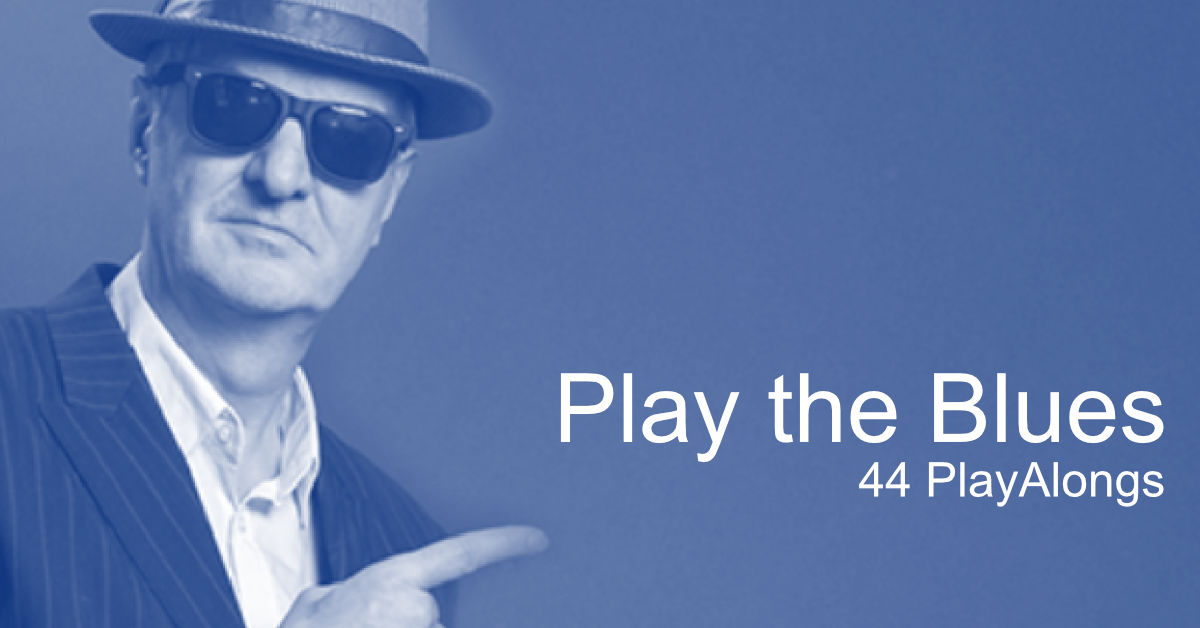 Play the Blues mit 44 Play Alongs
